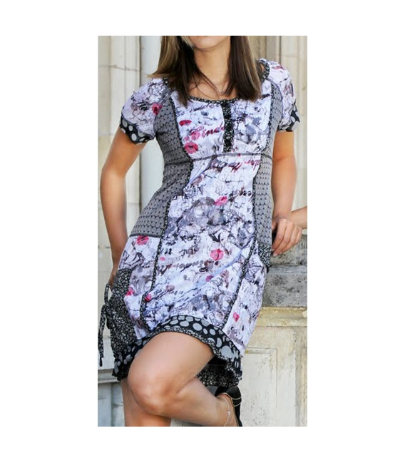 ROBE FLORALE S-QUISE