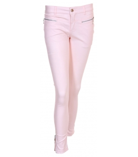 PANTALON ULTRASLIM GLACE ROSE T36+38+40+42