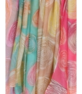 LOT DE 4 FOULARDS CIRCLE