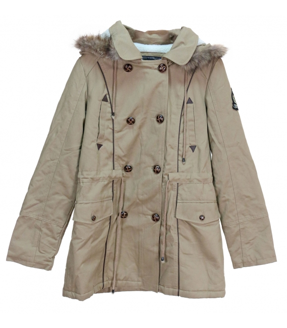 DUFFLE COAT KARLA DOUBLE FACON MOUTON T36/38+40/42+42/44