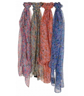 LOT DE 4 FOULARDS MILFLEUR