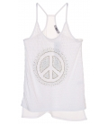Debardeur tunique Peace and Love S/M+L/XL